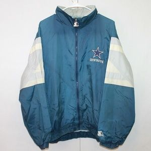 Starter Vintage Dallas Cowboys Large Windbreaker